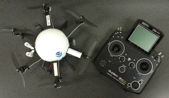 Small drone and its controller.