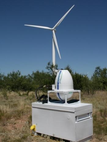 CTW's Vindicator® laser wind sensor, Photo Credit: NOAA
