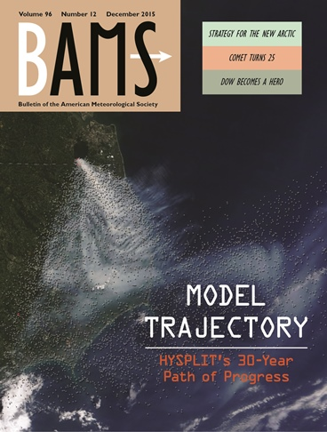 Cover of the BAMS December 2015 Issue
